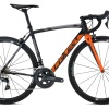 COLUER Radar 4.0 Shimano 105 Mixte Orange / Noir