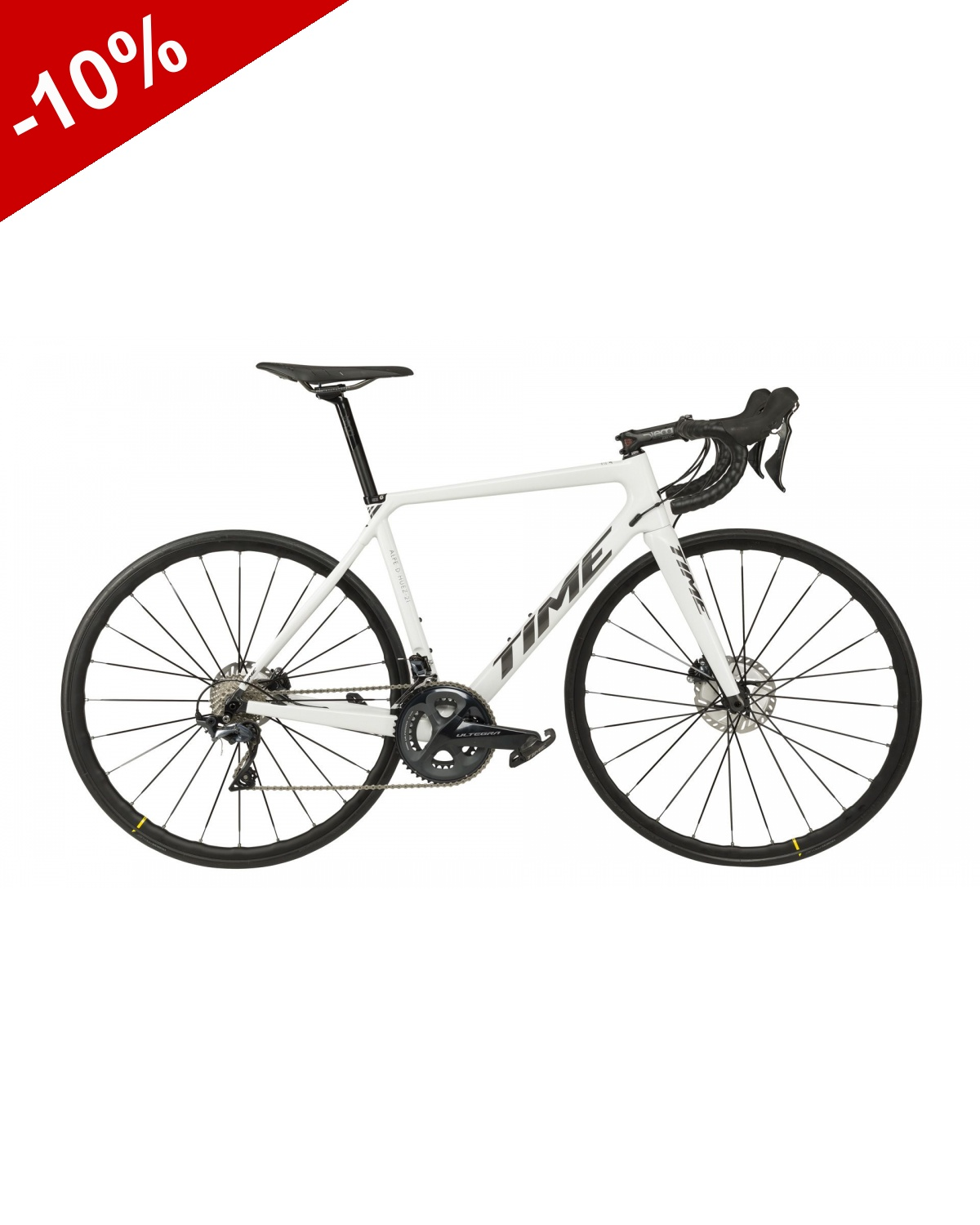TIME ALPE D'HUEZ 21 DISC SRAM RED AXS - Blanc