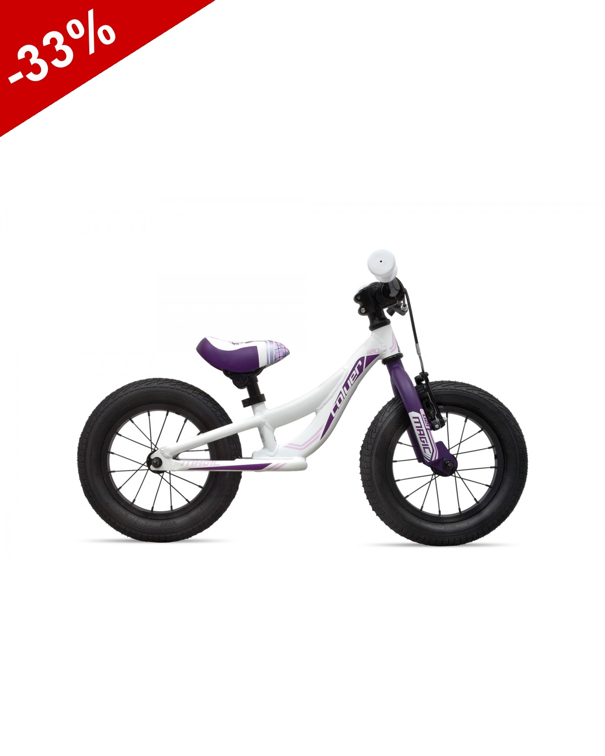DRAISIENNE COLUER MAGIC 120 - Blanc / Violet