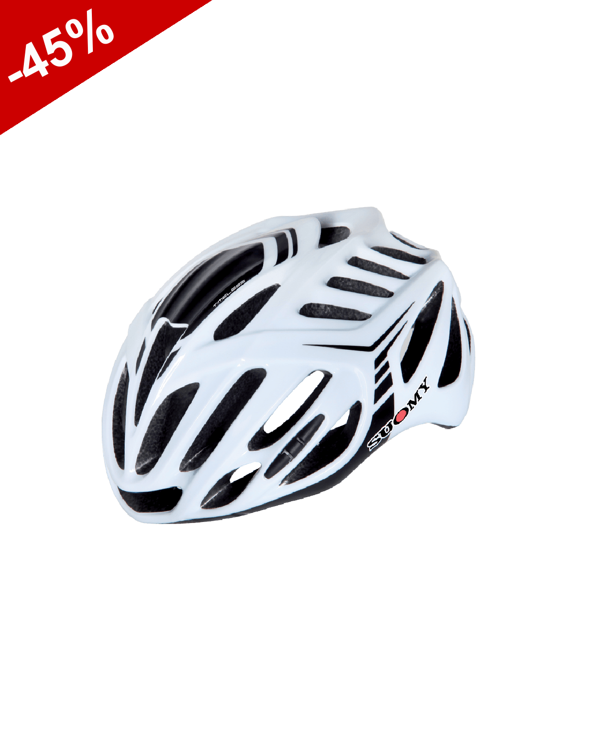 CASQUE SUOMY TIMELESS Blanc / Noir