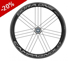ROUES CARBONE CAMPAGNOLO BORA ONE 50 DARK - pneus