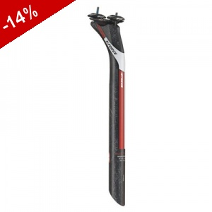 Tige de Selle FSA K-FORCE light - 350mm - 31.6mm - noir rouge