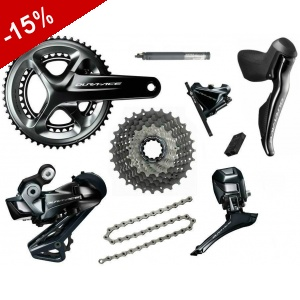 GROUPE COMPLET SHIMANO DURA-ACE DI2 DISC R9170