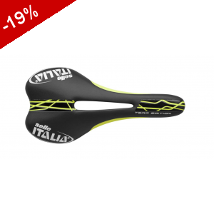 Selle ITALIA SLR TEAM EDITION FLOW noir jaune