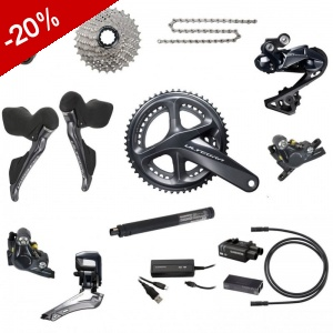 Shimano Ultégra DI2 DISC R8070 11v Groupe Complet
