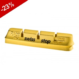 PATINS SWISS-STOP Race Pro CARBONE - YELLOW KING