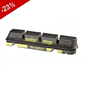 PATINS SWISS-STOP Race Pro CARBONE - BLACK PRINCE
