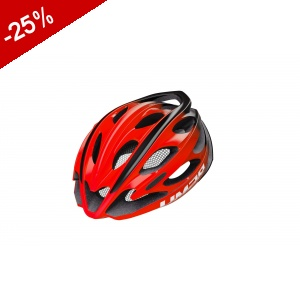 CASQUE LIMAR ULTRALIGHT+ - Noir / Rouge