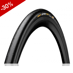 CONTINENTAL Super Sport Plus souple 700*23 - Noir