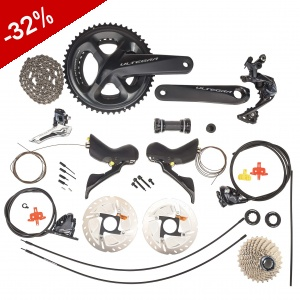 GROUPE COMPLET SHIMANO ULTEGRA DISC R8020