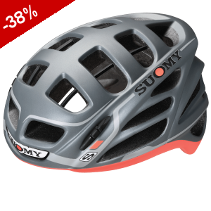 CASQUE SUOMY GUN WIND Gris Anthracite