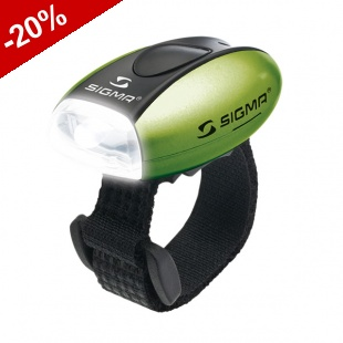 Lampe Avant SIGMA Multifonctions MICRO LED - VERT