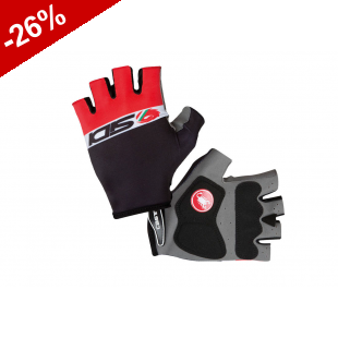 GANTS SIDI DINO 3 by CASTELLY - Noir/Rouge