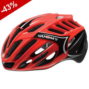 CASQUE SUOMY TMLS ALL IN Rouge / Noir