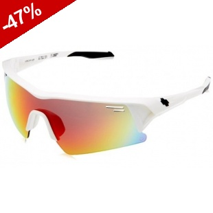 Lunette SPY SCREW OVER - Blanc